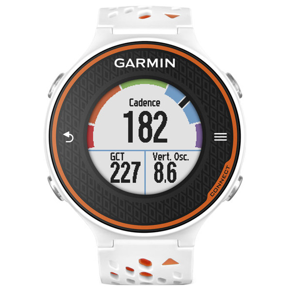 Спортивные часы Garmin Forerunner 620 White/Orange garmin смарт часы forerunner 920xt white red hrm run