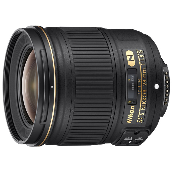 Nikon, Объектив премиум, AF-S NIKKOR 28mm f/1.8G