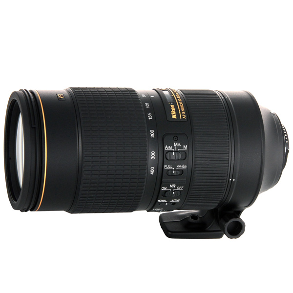 Объектив премиум Nikon AF-S NIKKOR 80-400mm f/4.5-5.6G ED VR new and original for niko lens cable af zoom nikkor ed 80 200mm f 2 8d bayonet row line 80 200 fpc unit rohs 1b060 641 5