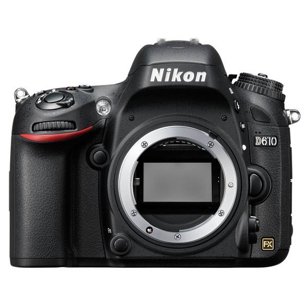 Фотоаппарат зеркальный премиум Nikon D610 Body Black