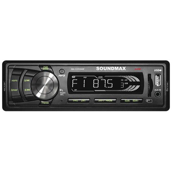USB-Автомагнитола Soundmax SM-CCR3049F автомагнитола soundmax sm ccr3049f usb sd mmc