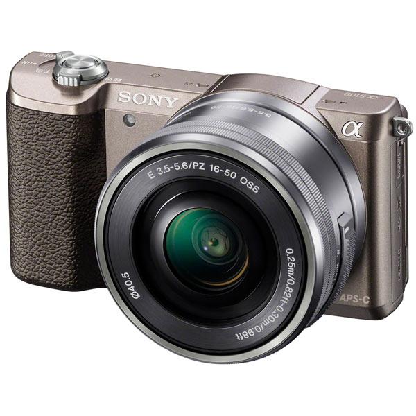 Sony, Фотоаппарат системный, Alpha A5100 Kit 16-50 Gold