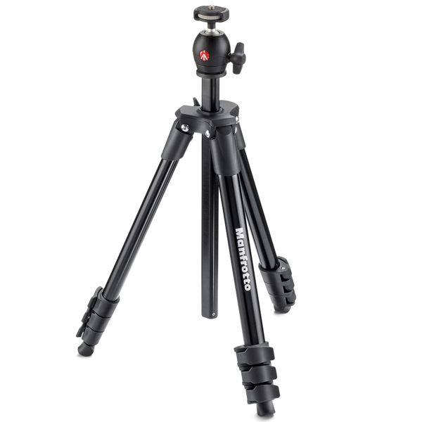 Штатив премиум Manfrotto Compact Light Black (MKCOMPACTLT-BK)