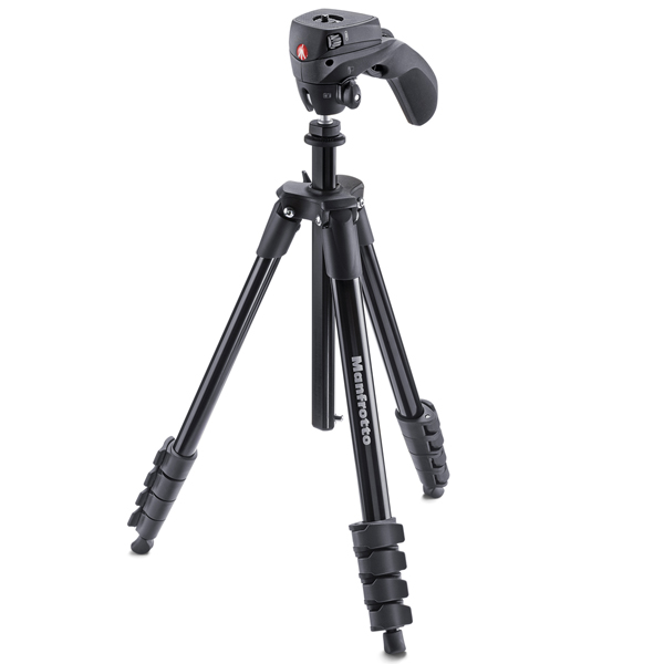 Штатив премиум Manfrotto Compact Action Black (MKCOMPACTACN-BK) штатив премиум manfrotto compact light black mkcompactlt bk