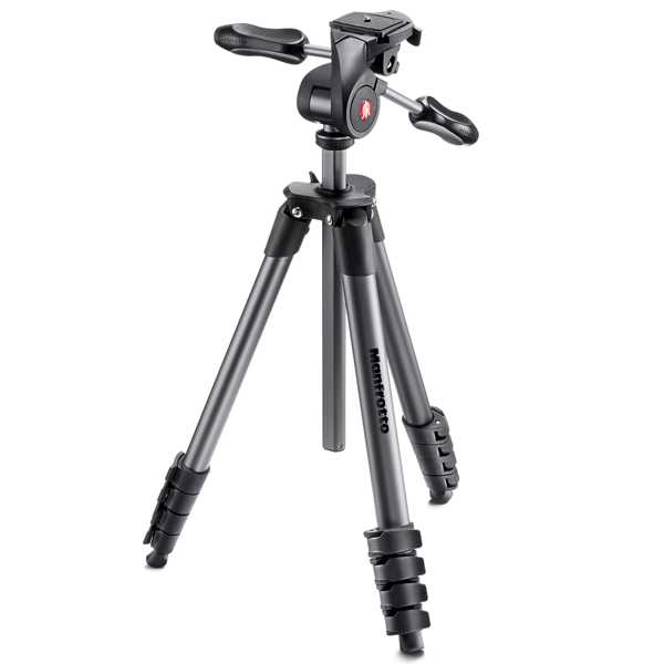 Штатив премиум Manfrotto Compact Advanced Black (MKCOMPACTADV-BK) штатив manfrotto compact action black