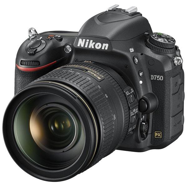 Nikon, Фотоаппарат зеркальный премиум, D750 + 24-120mm Kit Black