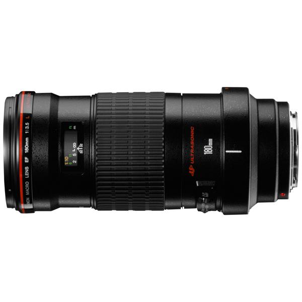 Объектив Canon EF 180mm f/3.5L Macro USM canon ef 100 f 2 8 macro usm