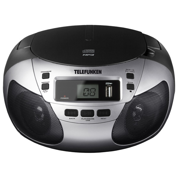 Магнитола Telefunken TF-CSRP3447 Silver