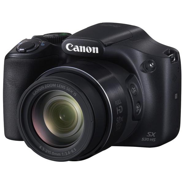 Фотоаппарат компактный Canon PowerShot SX530 HS Black