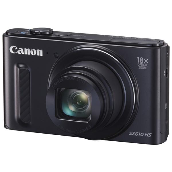 Фотоаппарат компактный Canon PowerShot SX610HS Black