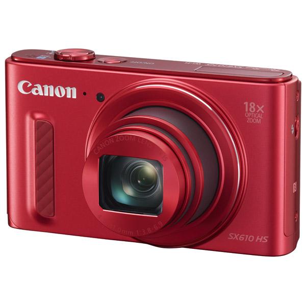 Фотоаппарат компактный Canon PowerShot SX610HS Red