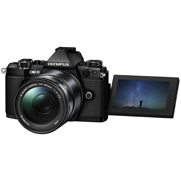 Фотоаппарат системный премиум Olympus OM-D E-M5 Mark II 14-150 Kit Black replacement 1220mah 7 6v li ion battery pack w charger for olympus om d e m5 more
