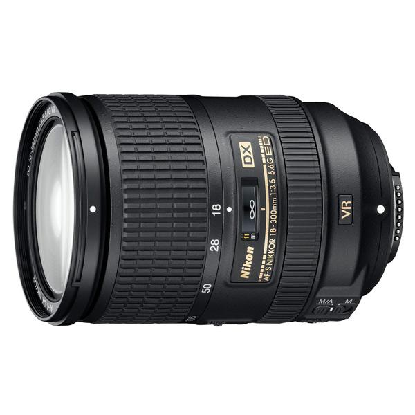 Объектив Nikon 18-300mm f/3.5-6.3G ED AF-S VR DX nikon 18 140mm f 3 5 5 6g ed vr