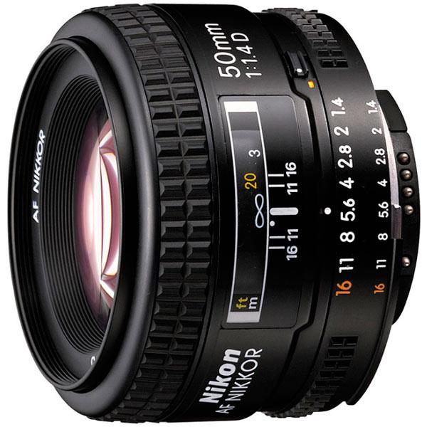 Объектив Nikon 50mm f/1.4D AF Nikkor nikon nikon af s nikkor 28mm f 1 8g фиксированный фокус широкоугольный объектив