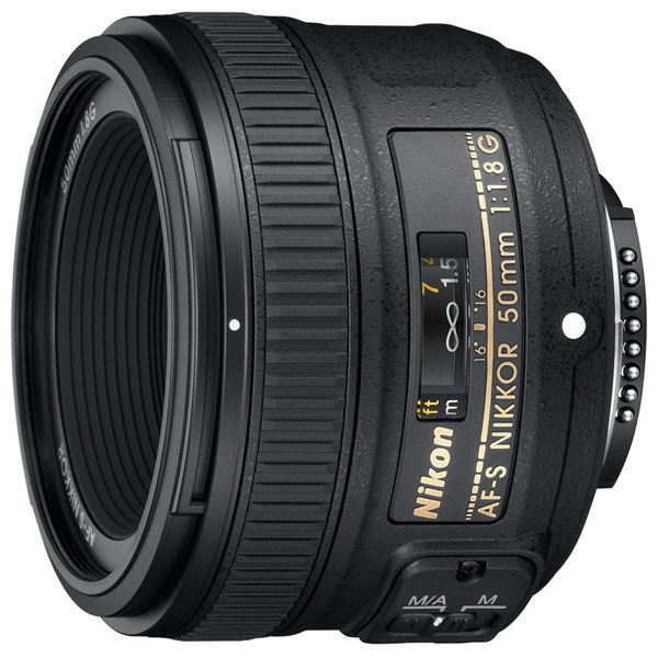 Объектив Nikon 50mm f/1.8G AF-S Nikkor nikon nikon af s nikkor 28mm f 1 8g фиксированный фокус широкоугольный объектив