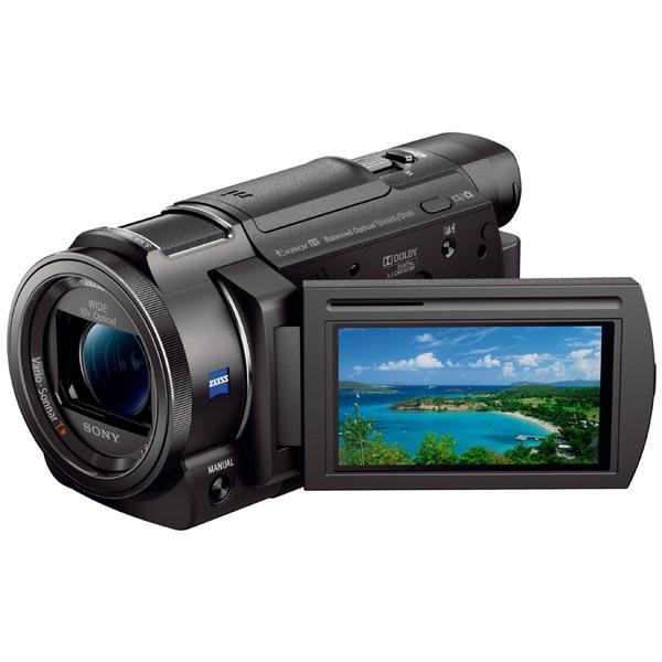 Видеокамера цифровая 4K Sony FDR-AX33 Black проектор sony 4k ultra short throw