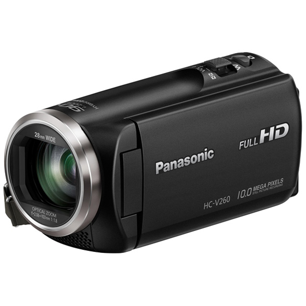 Видеокамера Full HD Panasonic HC-V260 Black видеокамера panasonic hc v160 black