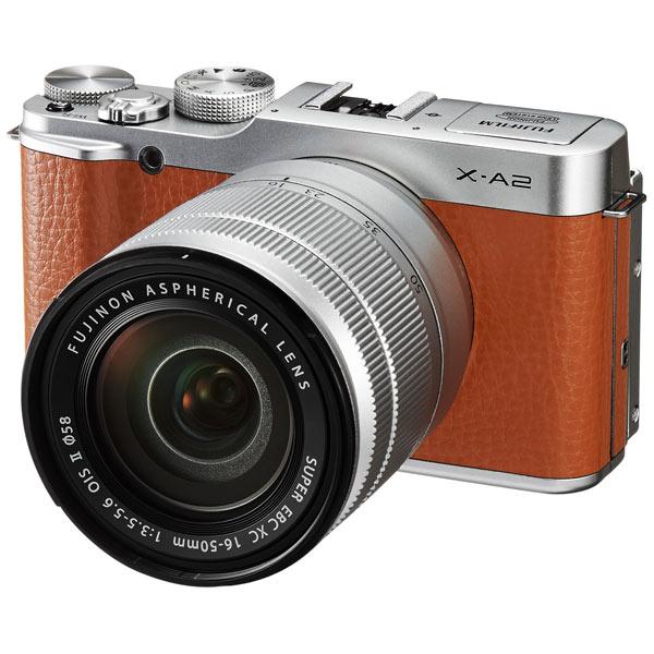 Фотоаппарат системный Fujifilm X-A2 Kit Brown