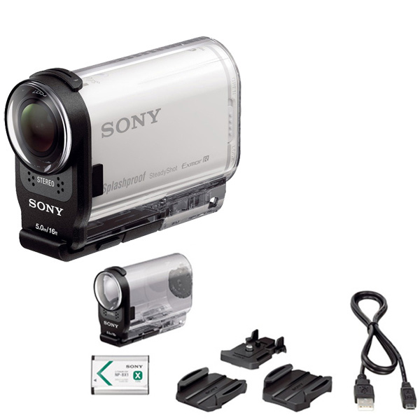 Видеокамера экшн Sony HDR-AS200V
