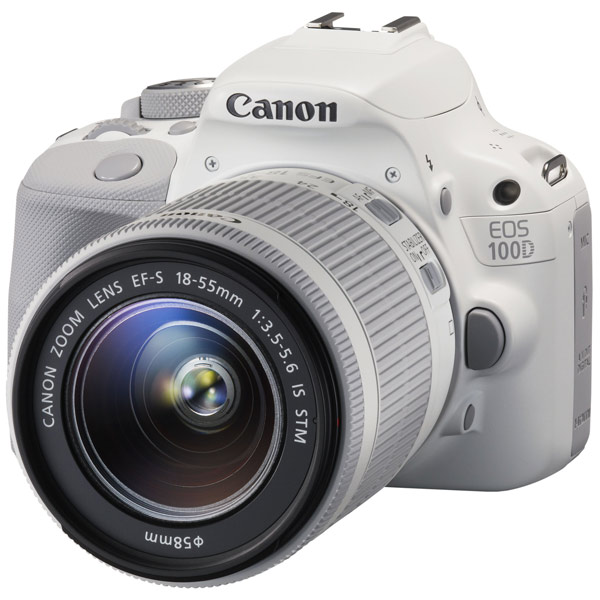 Фотоаппарат зеркальный Canon EOS 100D 18-55 IS STM Kit White