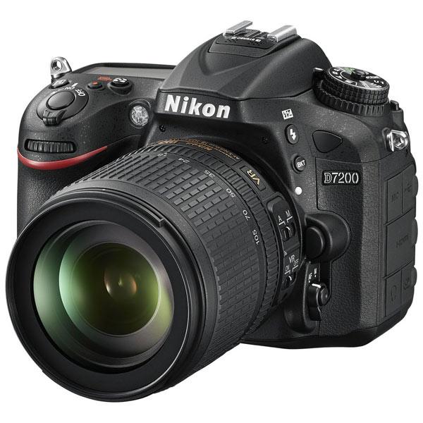 Фотоаппарат зеркальный Nikon D7200 18-105 VR Kit