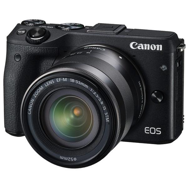 Фотоаппарат системный Canon EOS M3 Kit 18-55 IS Black