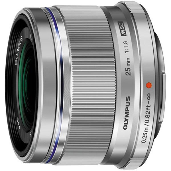 Объектив Olympus — 25mm f/1.8 Silver