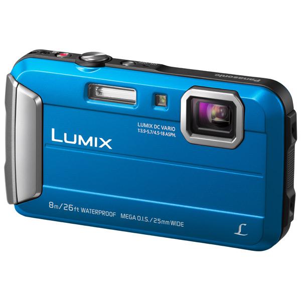 Фотоаппарат компактный Panasonic Lumix DMC-FT30 Blue все цены