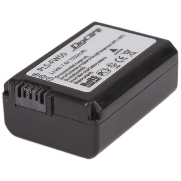DigiCare, Аккумулятор для цифрового фотоаппарата, PLS-FW50
