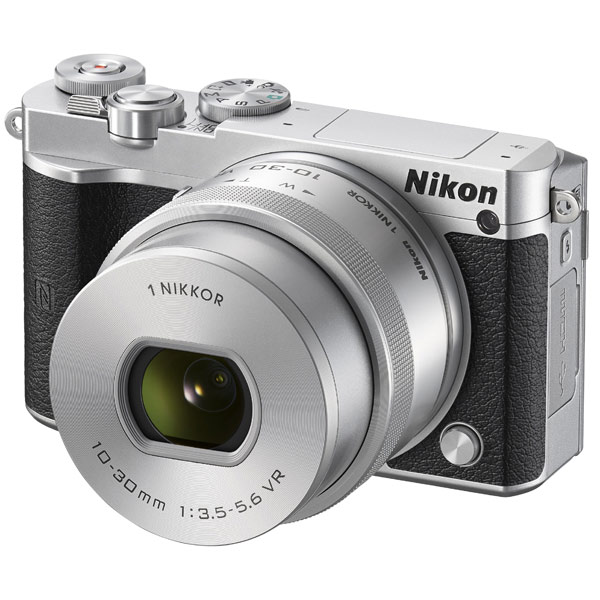 Фотоаппарат системный Nikon 1 J5 Kit Silver nikon 20x56 monarch 5