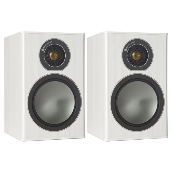 Полочные колонки Monitor Audio Bronze 1 White Ash центральный канал monitor audio bronze centre white ash