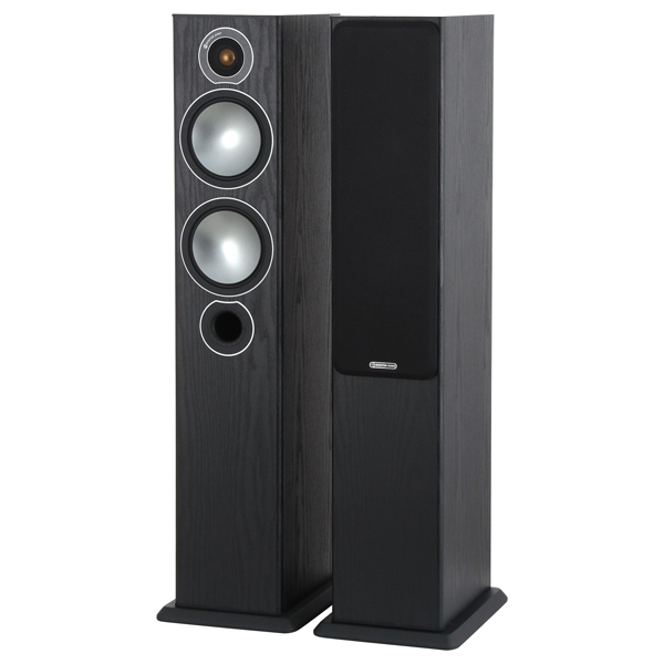 Monitor Audio, Напольные колонки, Bronze 5 Black Oak
