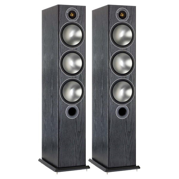 Monitor Audio, Напольные колонки, Bronze 6 Black Oak