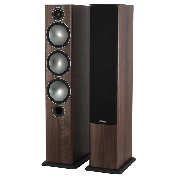 Monitor Audio, Напольные колонки, Bronze 6 Walnut