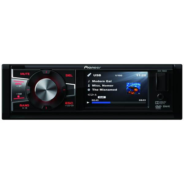 Автомобильная магнитола с DVD + монитор Pioneer DVH-780AV