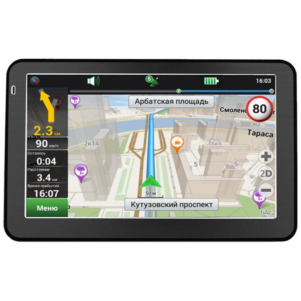 все цены на Портативный GPS-навигатор Prestigio GeoVision 5058 Navitel онлайн