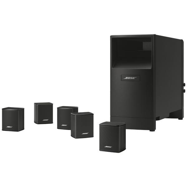 Комплект акустических систем Bose Acoustimass 6 V Black саундбар bose solo 5 tv black
