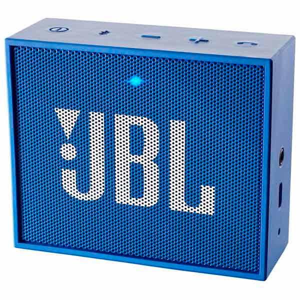 Беспроводная акустика JBL Go Blue (JBLGOBLUE) беспроводная акустика interstep sbs 150 funnybunny blue is ls sbs150blu 000b201
