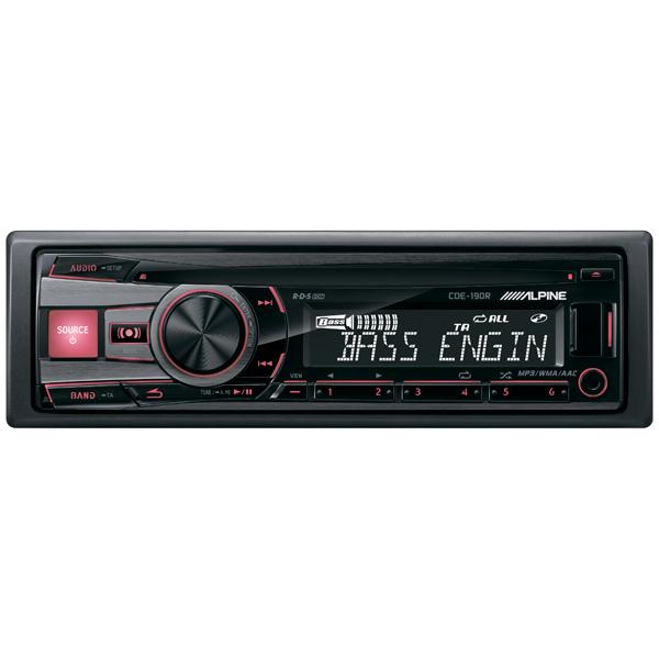все цены на Автомобильная магнитола с CD MP3 Alpine CDE-190R онлайн