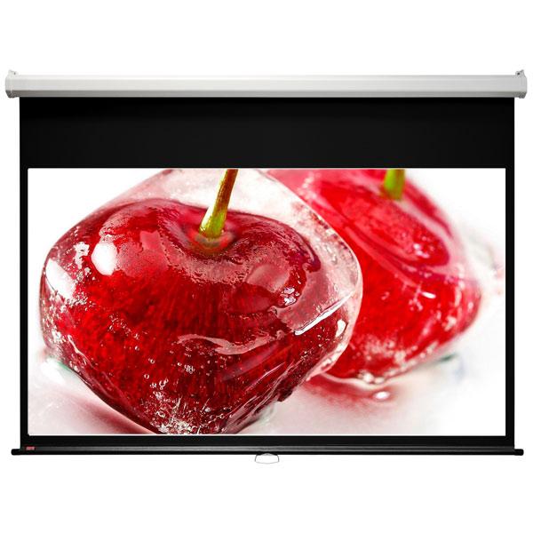 Экран для видеопроектора Draper Luma NTSC 3:4 88*118 XT1000E MW (207042B) экран для видеопроектора draper luma hdtv 92 mw white сase 114x203
