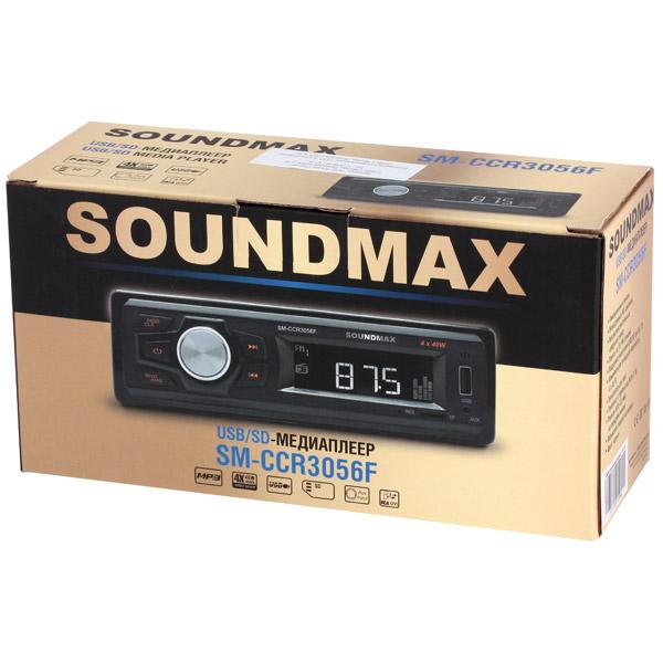Автомагнитола SoundMAX SM-CCR3056F - фото 4