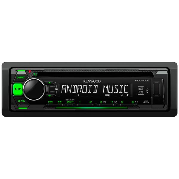 Автомобильная магнитола с CD MP3 Kenwood KDC-100UG