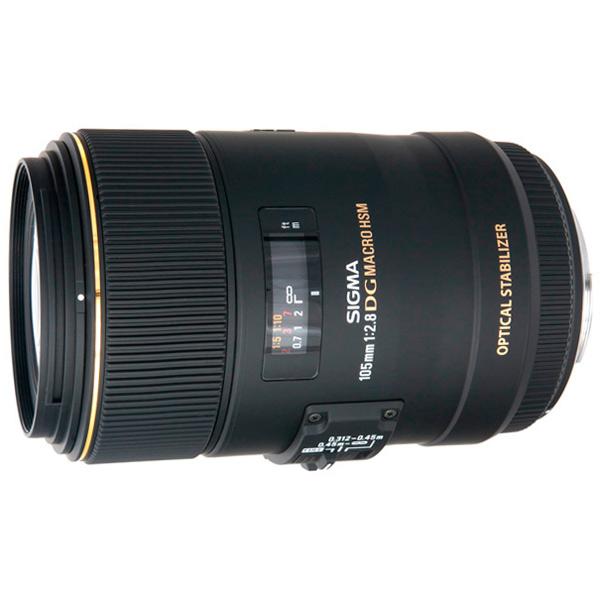 Объектив Sigma 105mm f/2.8 MACRO EX DG OS HSM NIKON объектив sigma canon af 105 mm f 2 8 ex dg os hsm macro