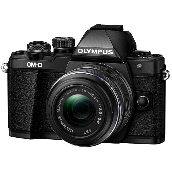 Olympus, Фотоаппарат системный, OM-D E-M10 Mark II 14-42 II R Black