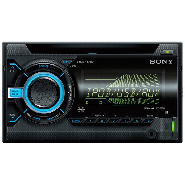 все цены на Автомобильная магнитола с CD MP3 Sony WX-800UI//Q