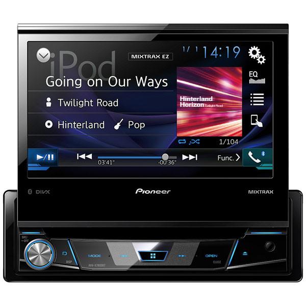 Автомобильная магнитола с DVD + монитор Pioneer AVH-X7800BT цена
