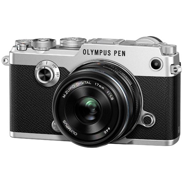 Фотоаппарат системный премиум Olympus PEN-F Silver + 17mm Black Kit