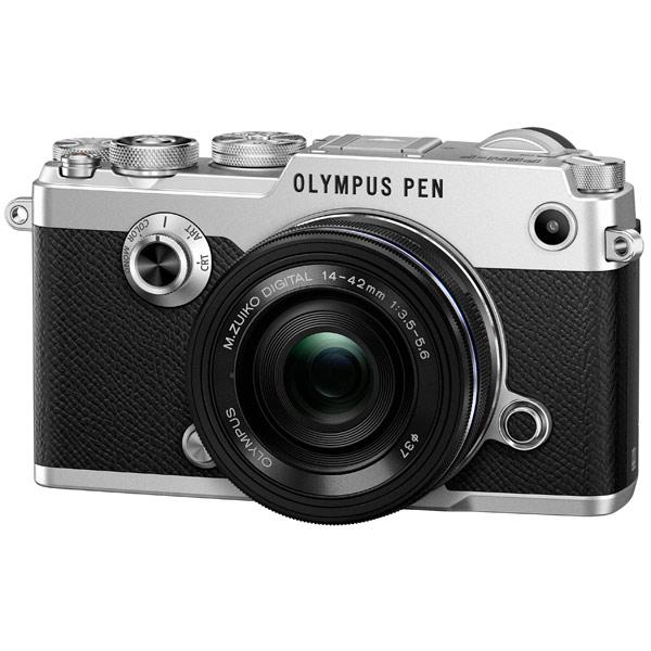 Фотоаппарат системный премиум Olympus PEN-F Silver + 14-42mm Black Kit olympus sz 14 красный