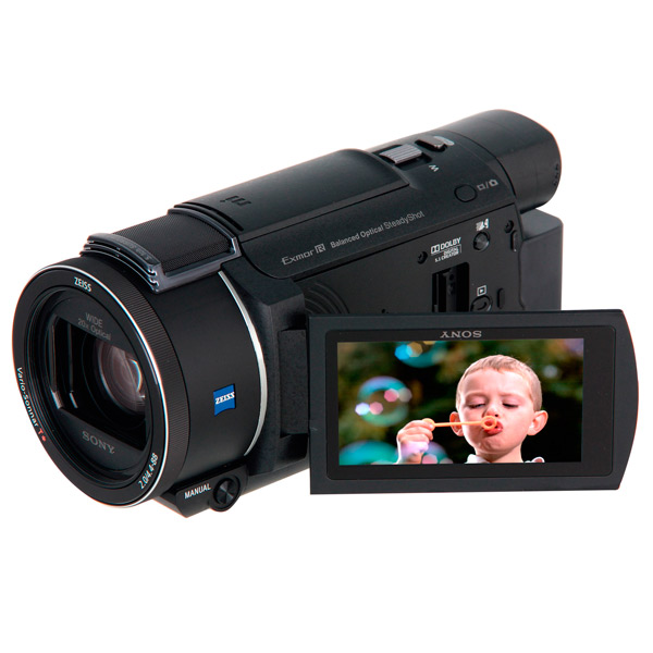 Видеокамера цифровая 4K Sony FDR-AX53 Black проектор sony 4k ultra short throw