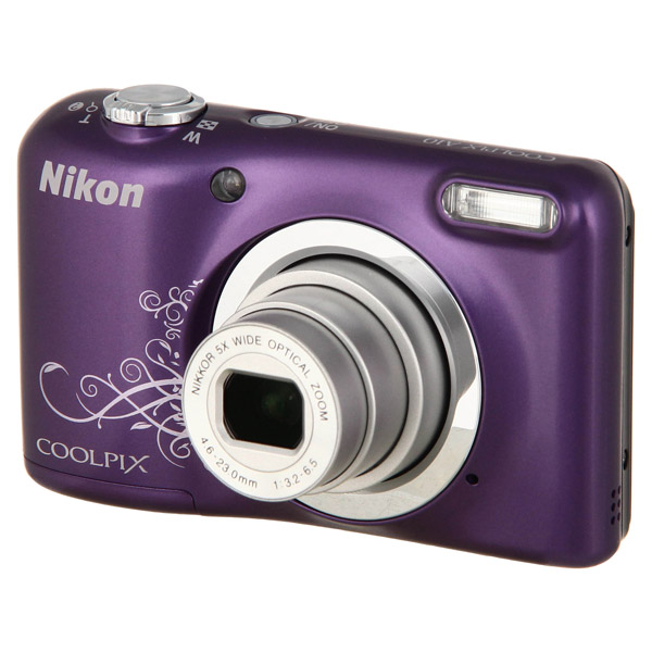 Фотоаппарат компактный Nikon Coolpix A10 Purple Lineart фотоаппарат nikon coolpix a100 purple lineart